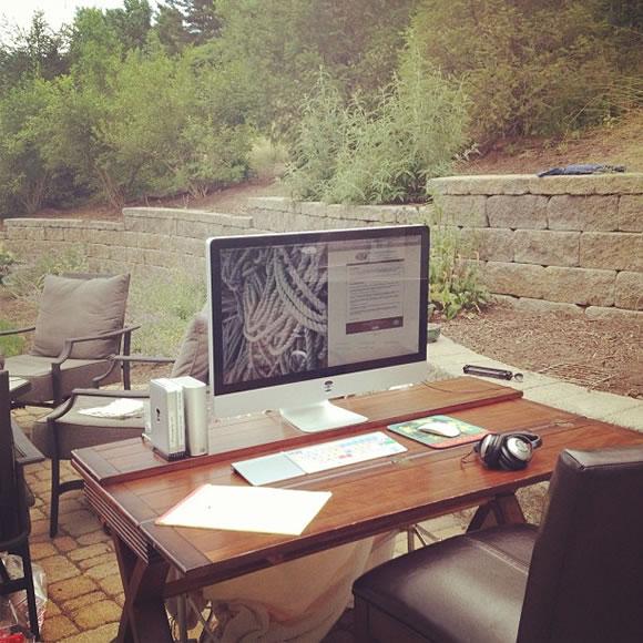 Espaces de travail simples et inspirants