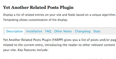 Related Post Plugin