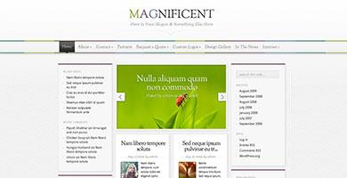 Thème Magnificent